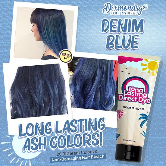 Dixmondsg Denim Blue Hair Dye