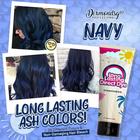 Dixmondsg Navy Hair Dye