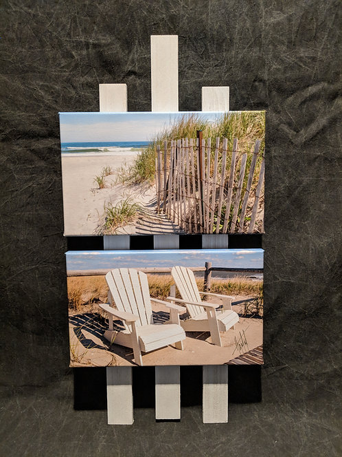 WM2 Reeds and Beach Chairs 6X10 Montage