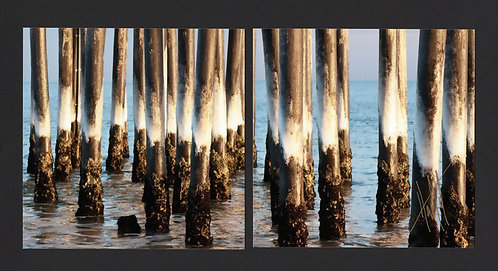 WD68 Ice Pilings Diptych
