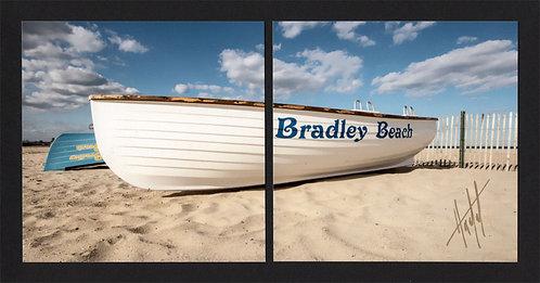 WD55 Bradley Beach Boat Diptych