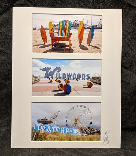 The Wildwoods 11X14 Collage