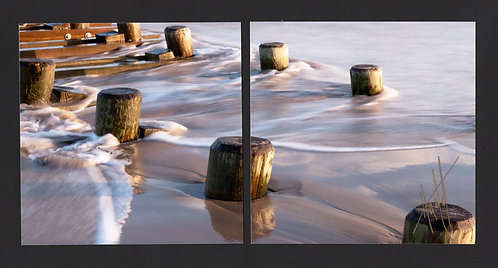 WD53 Surf Pilings Diptych
