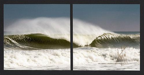 WD1 Break Wave Diptych