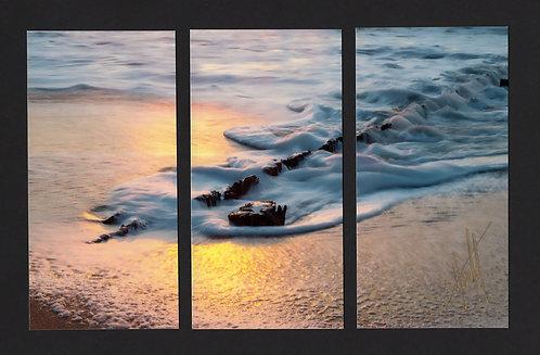 WT4 Sun Pilings Triptych