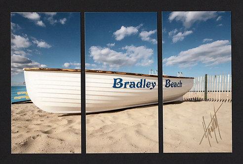 WT55 Bradley Beach Boat Triptych