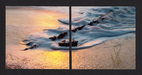 WD4 Sun Pilings Diptych
