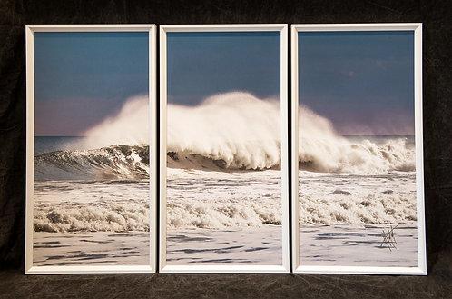 WT5 Wave Spray Triptych