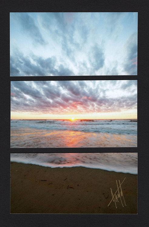 WT17 Sunscape Vertical Triptych