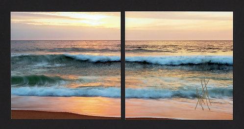 WD15 Shorescape #2 Diptych