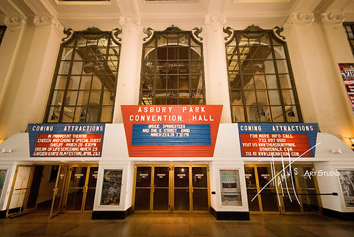 A22F Convention Hall Sign
