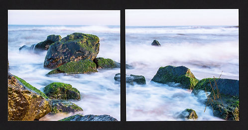 WD7 Evening Rocks Diptych