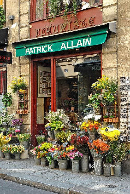W37F Paris Flower Shop