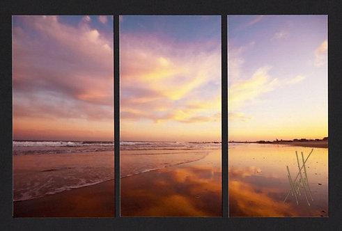 WT56 Pastel Sky Triptych
