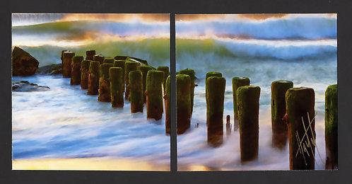 WD2 Shorescape #3 Diptych