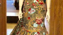 Embroidered Prom Gown