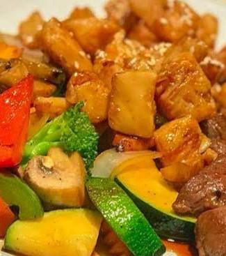 Hibachi Steak and Chicken