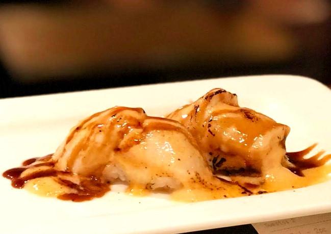 Grilled Scallop Nigiri