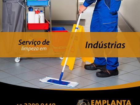 Solução em Serviços de Limpeza para a Indústria!