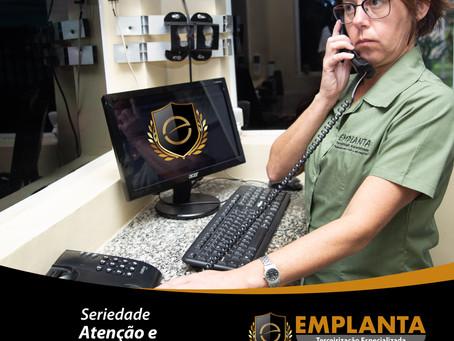 Portaria e Controle de Acesso EMPLANTA Seriedade, Atenção e Competência!