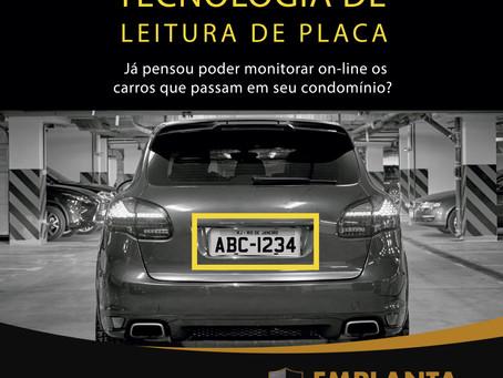 TECNOLOGIA DE LEITURA DE PLACA VEICULAR