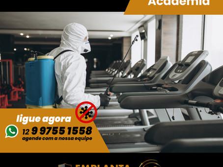 Reabra com segurança - Sanitize sua Academia 🚫🦠