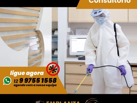 Reabra com segurança - Sanitize seu Consultório 🚫🦠