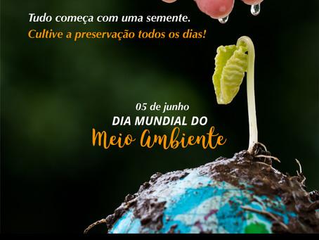 05 de junho | Dia Mundial do Meio Ambiente