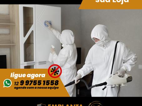Reabra com segurança - Sanitize sua Loja 🚫🦠