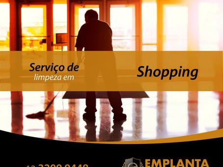 Serviço de Limpeza em Shopping realizado por especialistas!