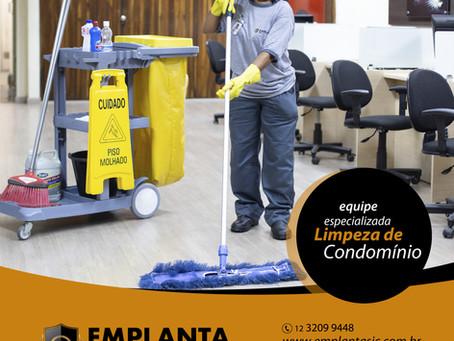 LIMPEZA DE CONDOMÍNIO | Equipe Especializada