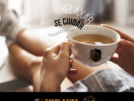 Sexta é dia de relaxar, se cuidar e desestressar!