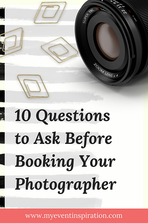 10 questions to ask before booking your photographer my event 10 questions to ask before booking your photographer my event inspiration event wedding planning junglespirit Gallery
