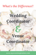 What's the difference between a Wedding Coordinator and Venue Coordinator?
