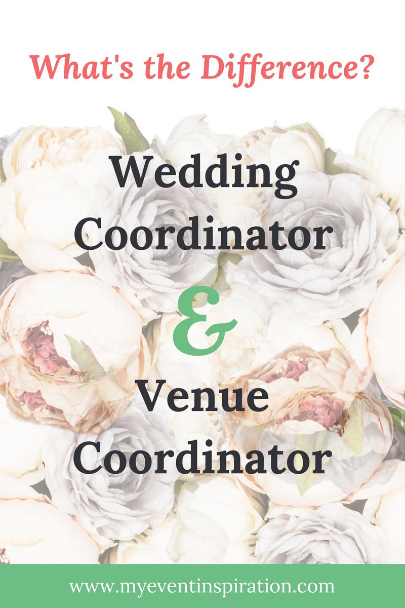 Wedding Coordinator and Venue Coordinator