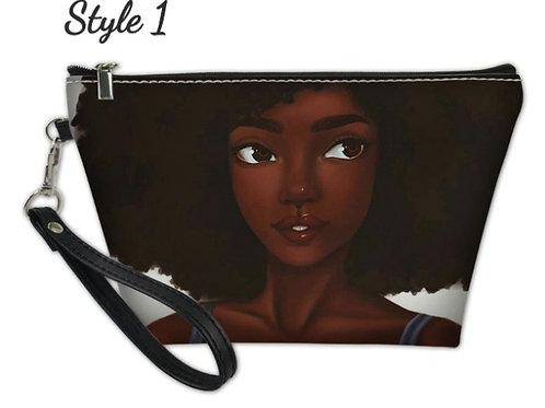 Black Girl Magic Cosmetic Bag