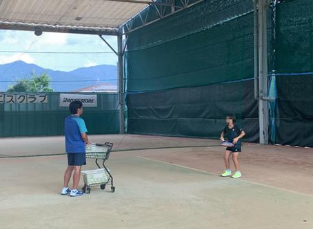 テニスアカデミーへの食トレ講座。