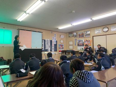 中学硬式野球クラブチームのスポーツ栄養講座開催しました!