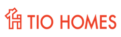 Tio Homes Logo_Tio HomesWord Type Orange