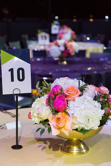 MJM Gala and Event Place Card and Flower Arrangement Audtin,Tx