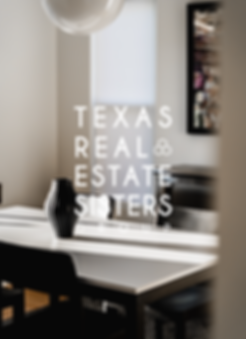 Texas Real Estate Sisters Logo Design and Interior Design