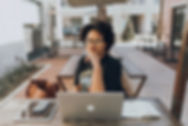 African American Woman Brand Photoshoot