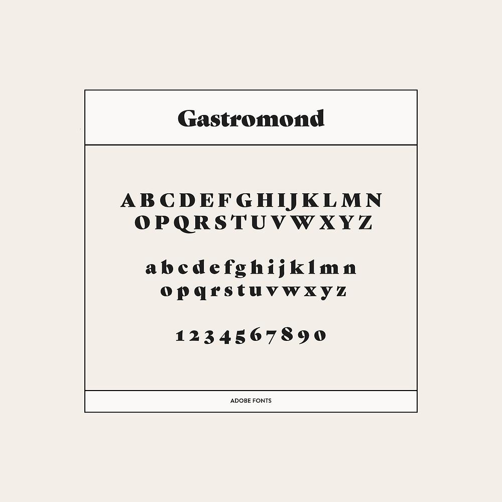 Gastromond Font