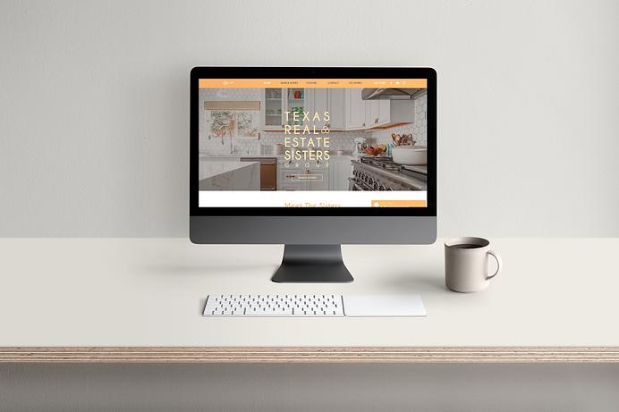 Texas Real Estate Sisters Wix Website Design
