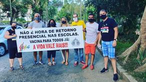 SEPE Petrópolis entra com ação judicial contra retorno de profissionais antes da segunda dose