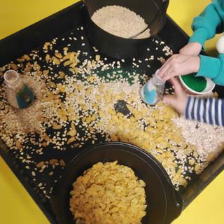 Pasta and rice activities