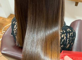 髪質改善 今日の美髪