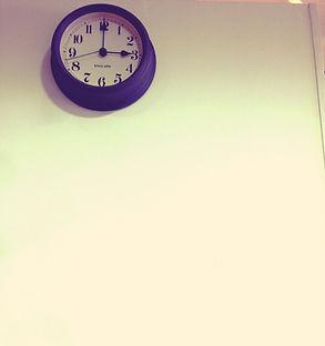 美容室cheerful時計