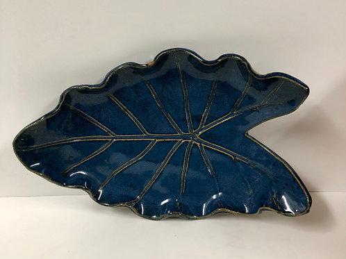 Blue Leaf Large