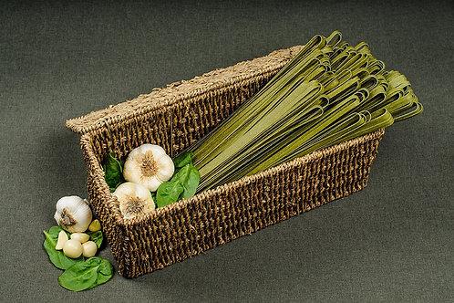 Papparedelle's Spinach Garlic Fettuccine